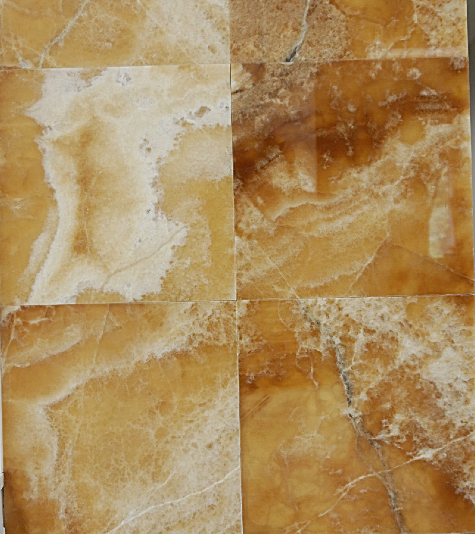 Brown Onyx Tiles Polished Amp Beveled 12 Quot X12 Quot X3 8 Quot Marble