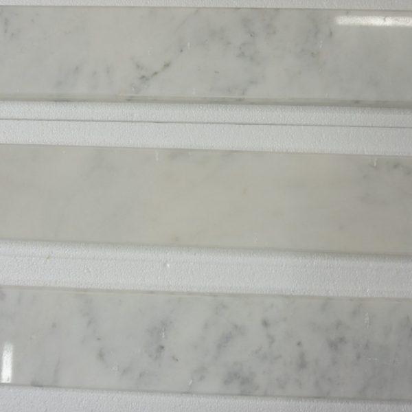 "Marble Saddle For Bathroom: CARRARA SADDLES POLISHED 4""X36""X3/4"""